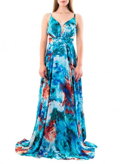 FOR COSTUME šaty modré 6343 (2)