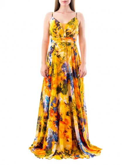 FOR COSTUME šaty žlté 6343 (2)
