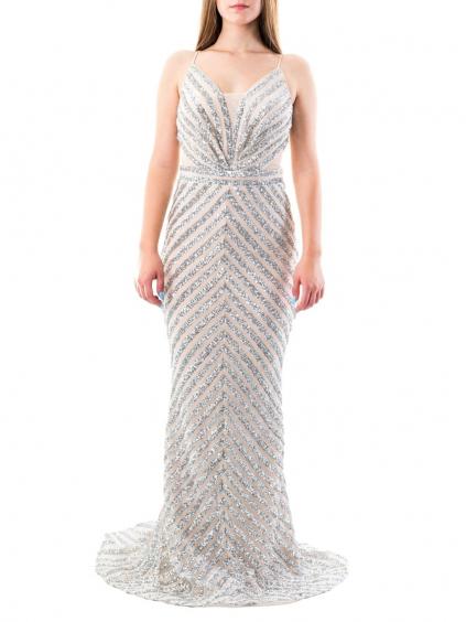 FOR COSTUME šaty krémové 6120 (3)
