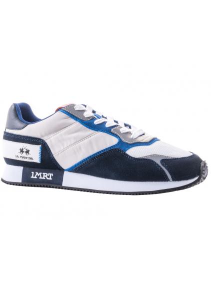 LA MARTINA Lfm201.010.2030 panske tenisky biele modre nizke (2)