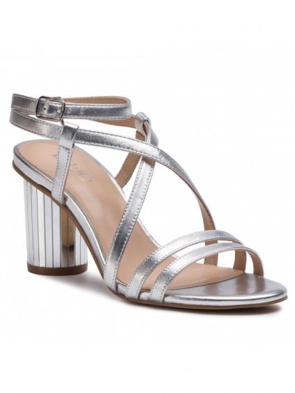 liu jo doroty silver damske sandale strieborne (2)