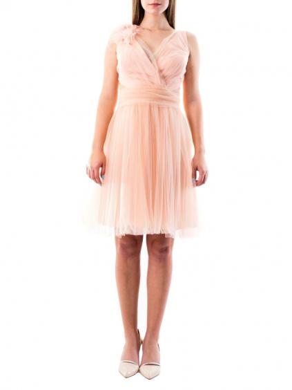 OLISHA dámske šaty krátke ružové (1)