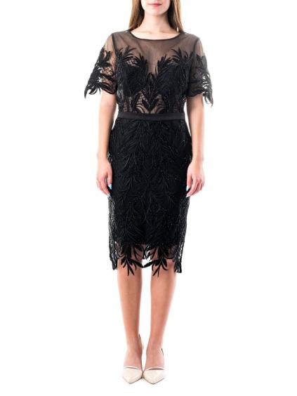 POP LINE šaty čierne 00519 (1)
