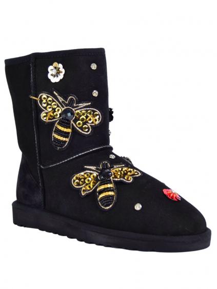 roberto serpentini nero rsstrww1487 dámske snehule topánky (2)