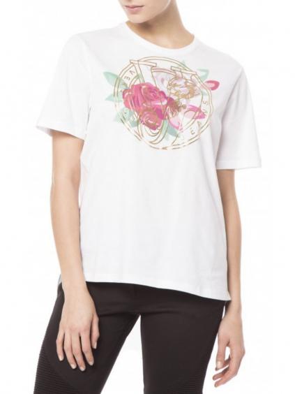 VERSACE JEANS - dámske tričko biele