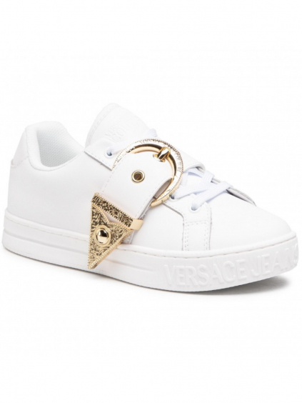 versace couture jeans E0VWASK971957 white