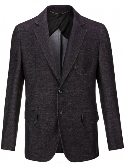O18C MRF0680 BTE004N blazer crest black billionaire pánske sako čierne
