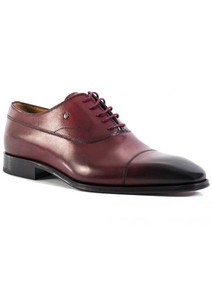 roberto serpentini bordeaux calzature panske spolocenske topanky bordove (4)