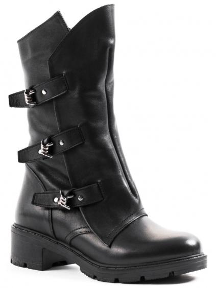 Roberto Serpentini Nero dámske členkové topánky 9900000400156 21123 čierne (3)