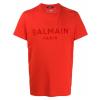 BALMAIN Paris Logo Red tričko