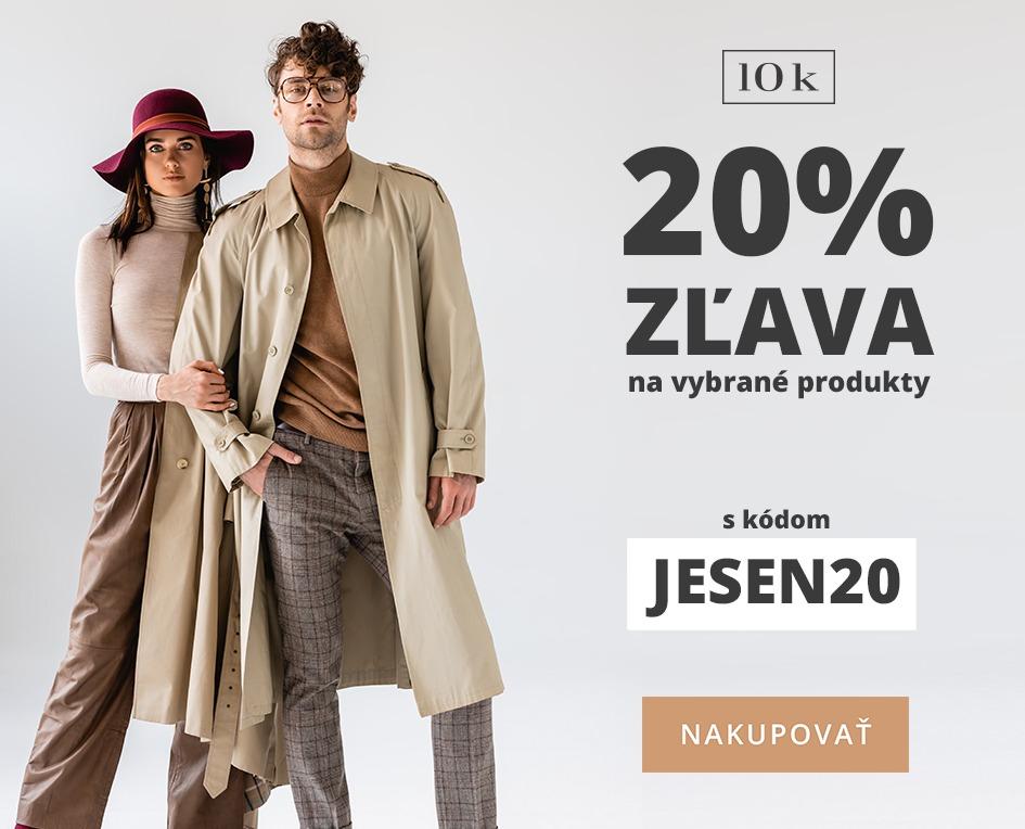 Zľava 20% s kódom JESEN20