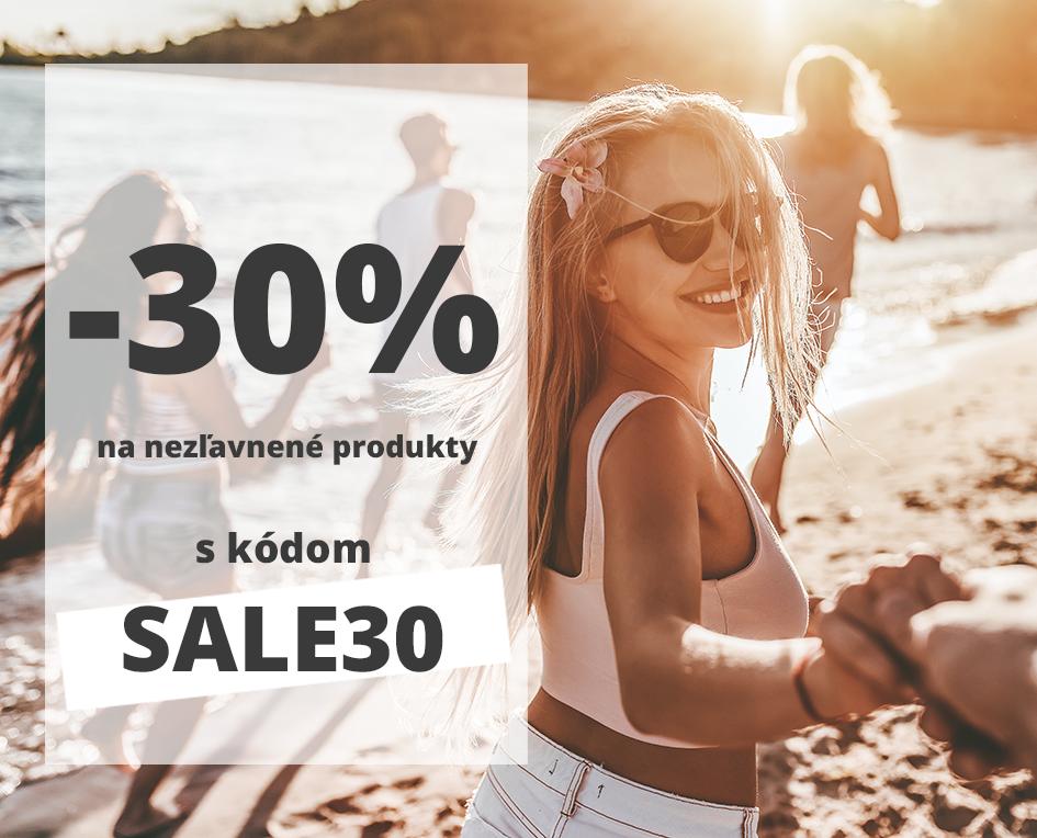 Summer sale extra zľava 30%
