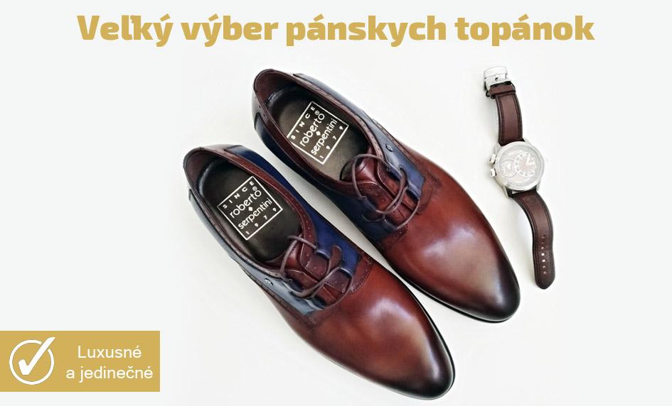 Veľký výber pánskych topánok