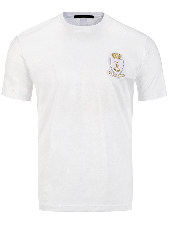 Billionaire Polo Edoardo White pánske tričko (4)