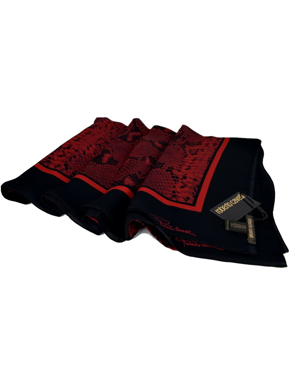 Roberto Cavalli červená šatka