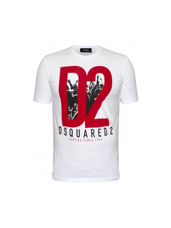c6e118a4d3ff DSQUARED2 party pánske tričko biele (1)