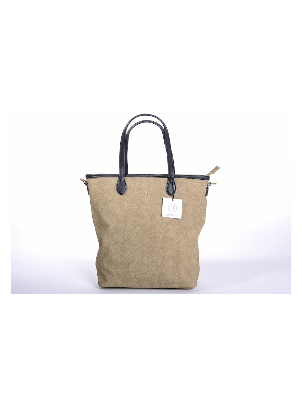 jennifer lopez jlo čierna farba elegantná dámska kabelka cestovná taška hnedá eko koža