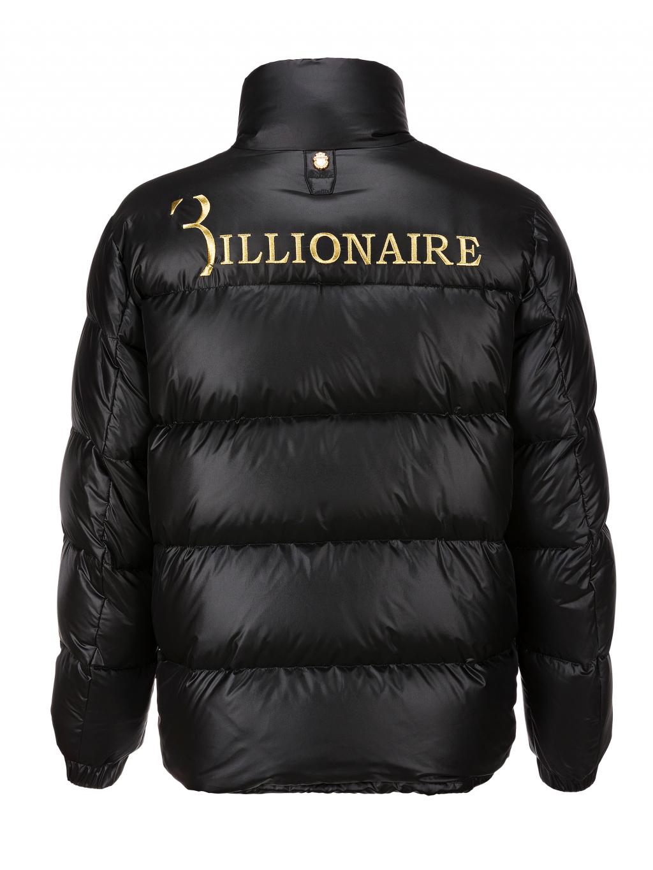 O18C MRB0800 BTE003N 0216 nylon jacket statement billionaire pánska zimná bunda zlatá čierna 1
