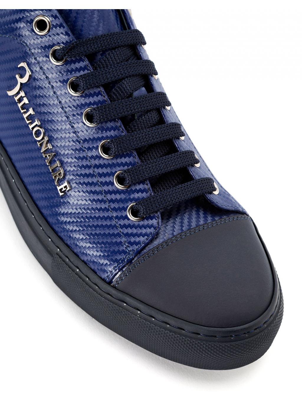 0bd434244c ... O18S MSC1686 BTE004N 14 lo top sneakers original dark blue billionaire  pánske tenisky modré 3 ...