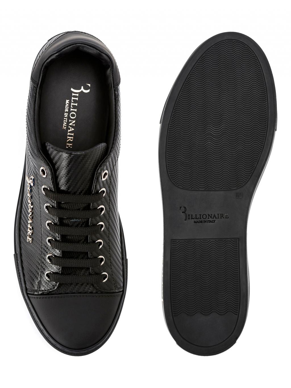 31931bcd9 ... O18S MSC1686 BTE004N 0292 lo top sneakers original billionaire pánske  tenisky čierne 2