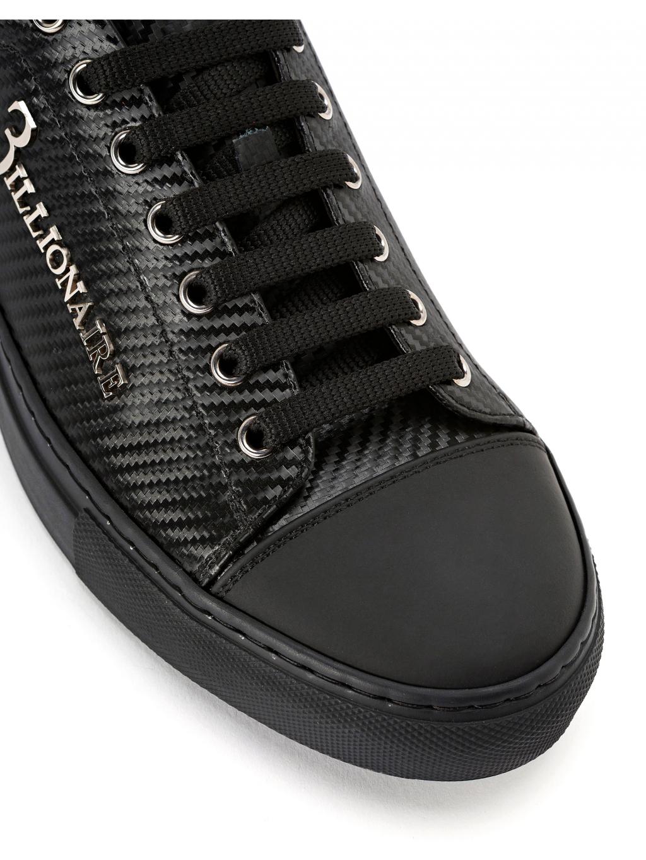 5438595bf0 ... O18S MSC1686 BTE004N 0292 lo top sneakers original billionaire pánske  tenisky čierne 3 ...