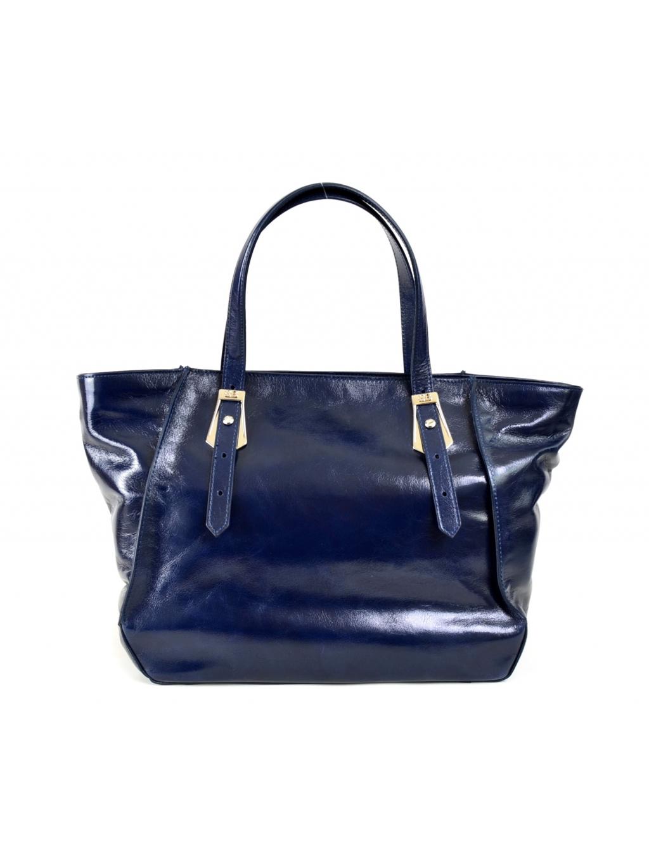 645bea136b Sara Burglar Hisa Vit. Lux. - dámska kabelka modrá. Pre modernú ženu.