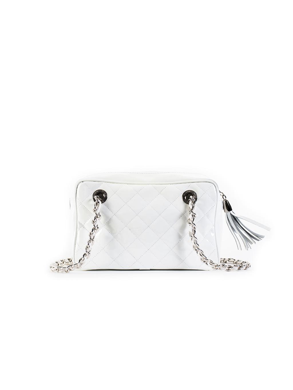 sara burglar chanel bianco 1394 damska kabelka biela (1)