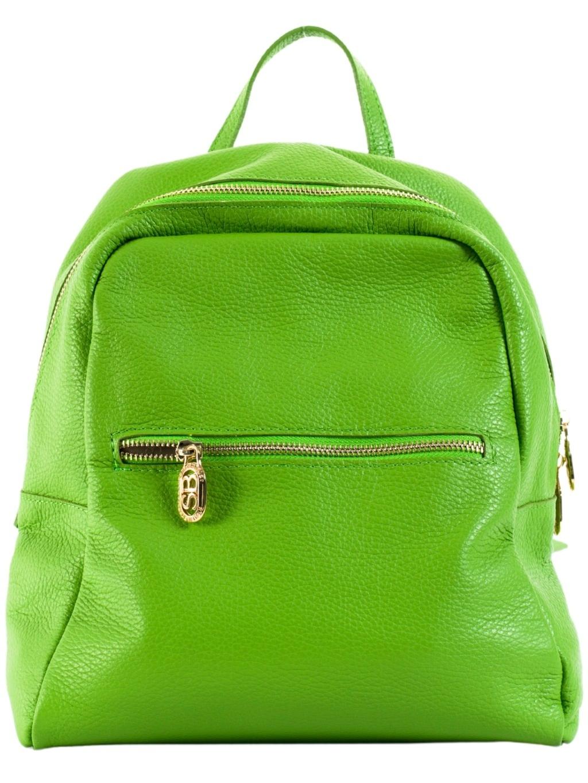 SARA BURGLAR Noemi zelený dámsky batoh (3)