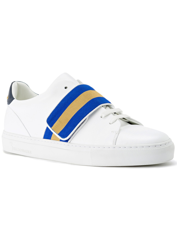 billionaire lo top elegant sneakers white O18SMSC1631BLE042N panske tenisky biele suchy zips (9)