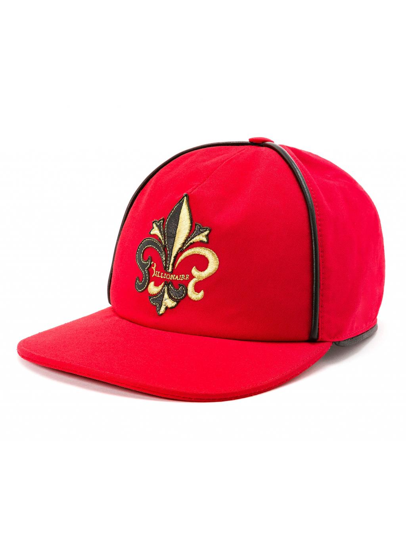 BILLIONAIRE Visor Hat Giglio šiltovka červená