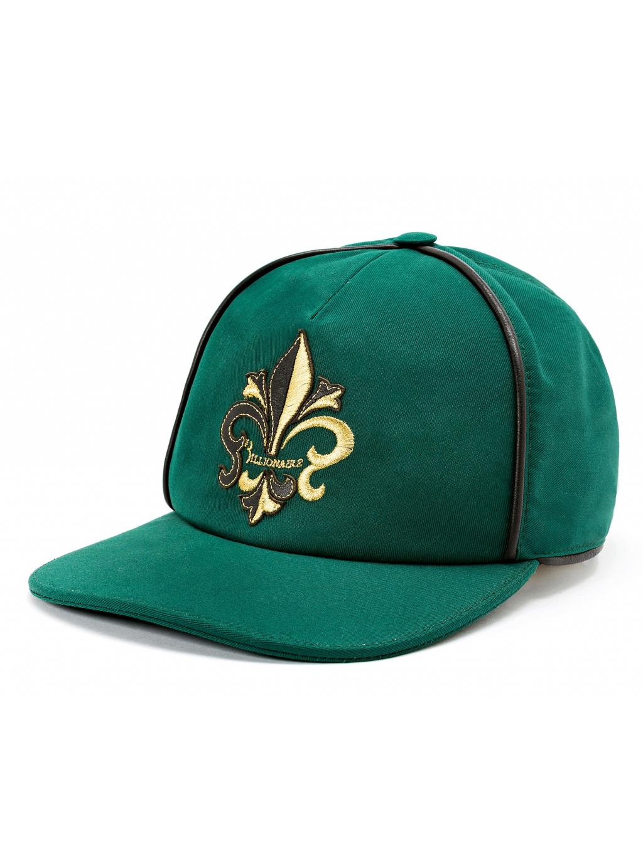 BILLIONAIRE Visor Hat Giglio šiltovka zelená