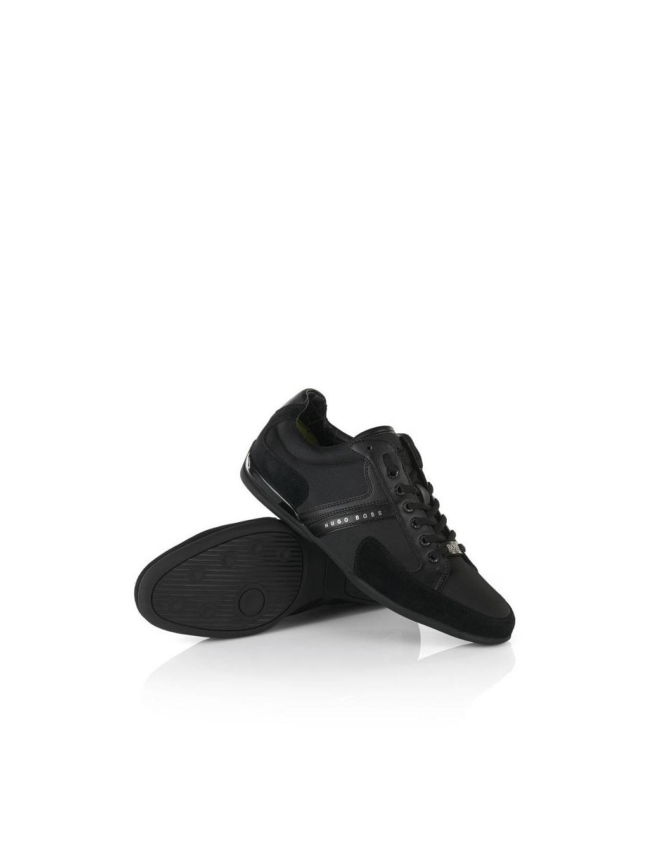 1e3b745d38698 Jedinečne luxusná pánska obuv BOSS HUGO BLACK