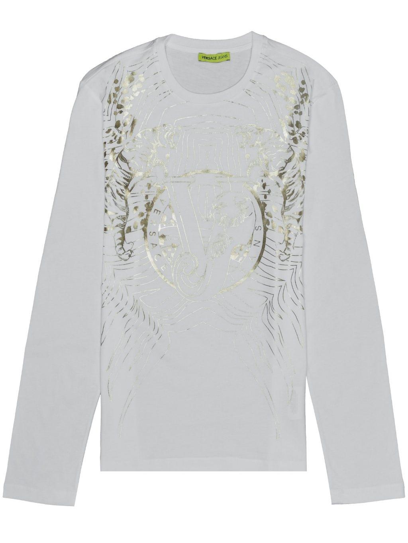 VERSACE JEANS Print pánske tričko (1)