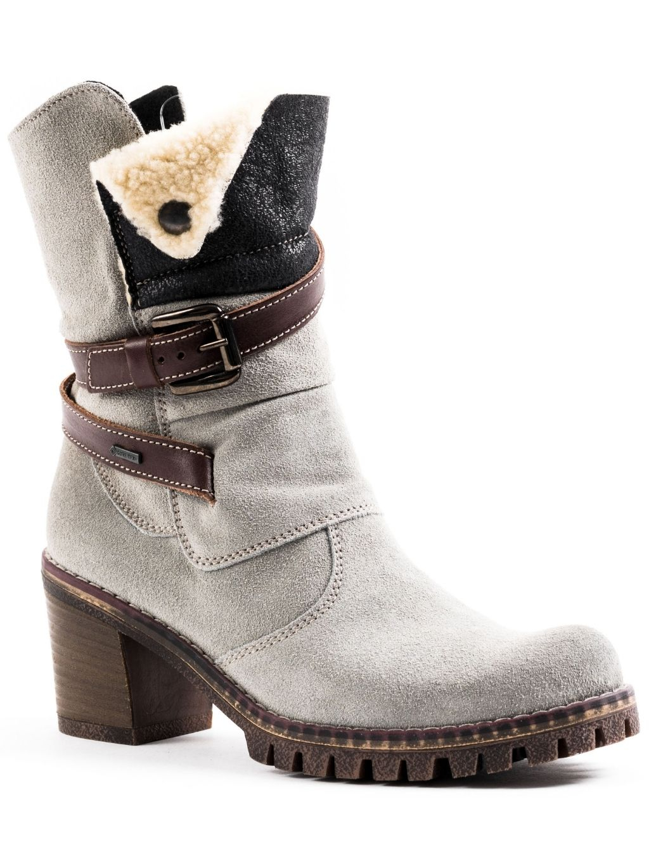 Manas Montone členkové čižmy zimné (4)