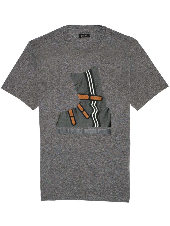 Z ZEGNA Grey tričko (2)