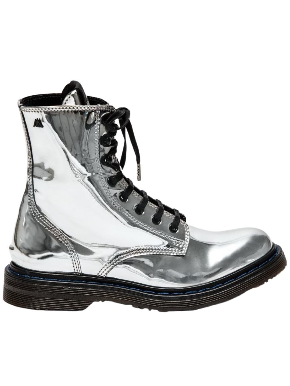 JUST ANOTHER COPY Silver členkové čižmy (3)