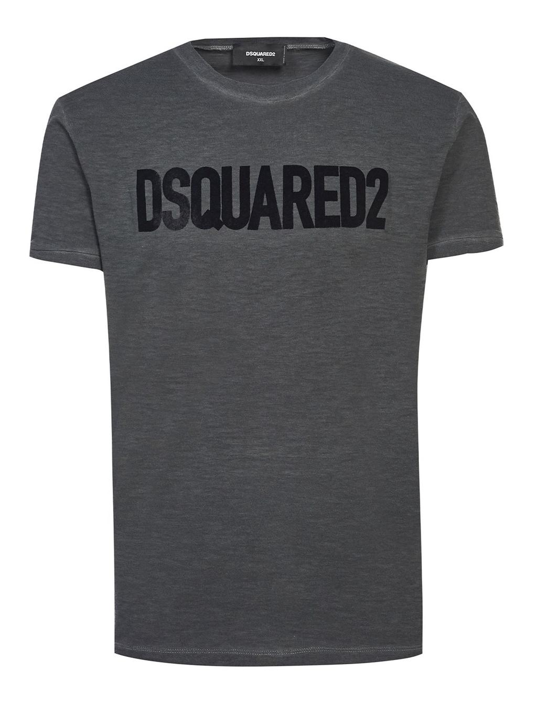 DSQUARED2 Logo Grey pánske tričko
