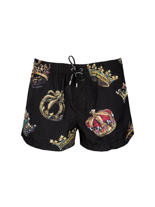 DOLCE & GABBANA  pánske plavky M4A24TFUSW1  boxer medio+pochette