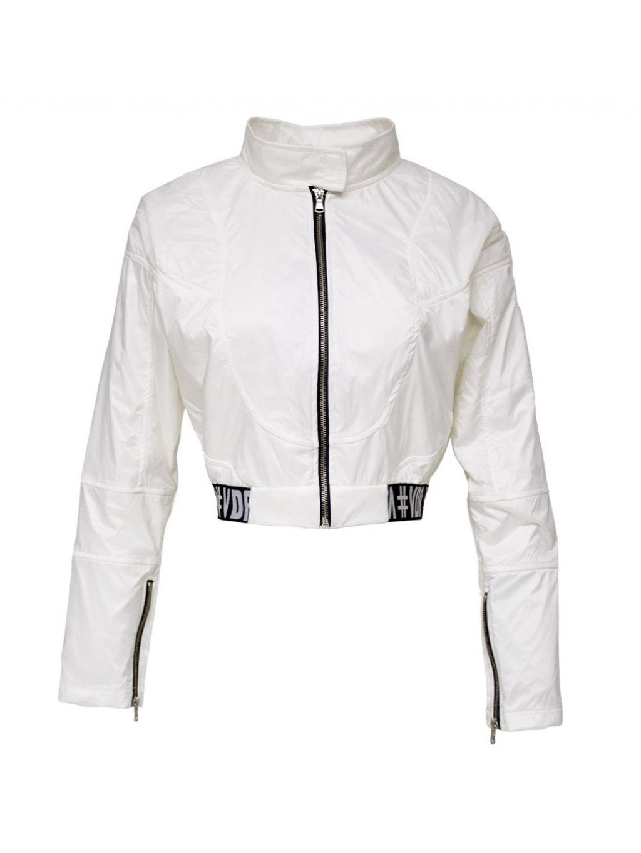 #VDR Off White- dámska krátka bunda