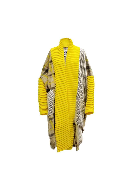 #VDR Original Yellow Oversize kabát