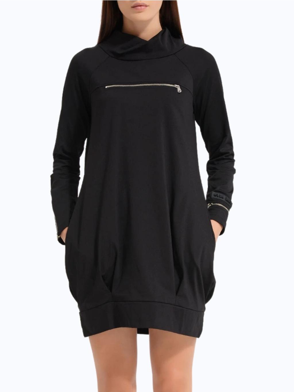 #VDR Nero čierne šaty (1)