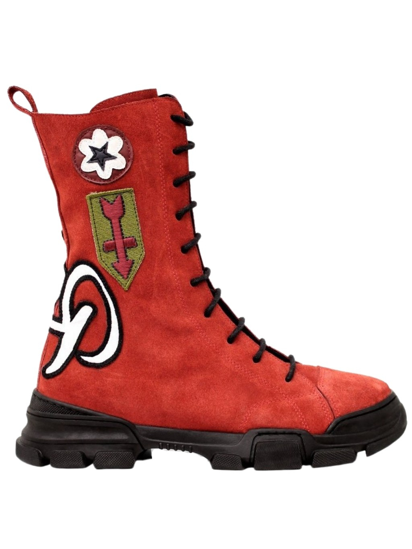 #VDR Davidson Rosso členkové čižmy (1)