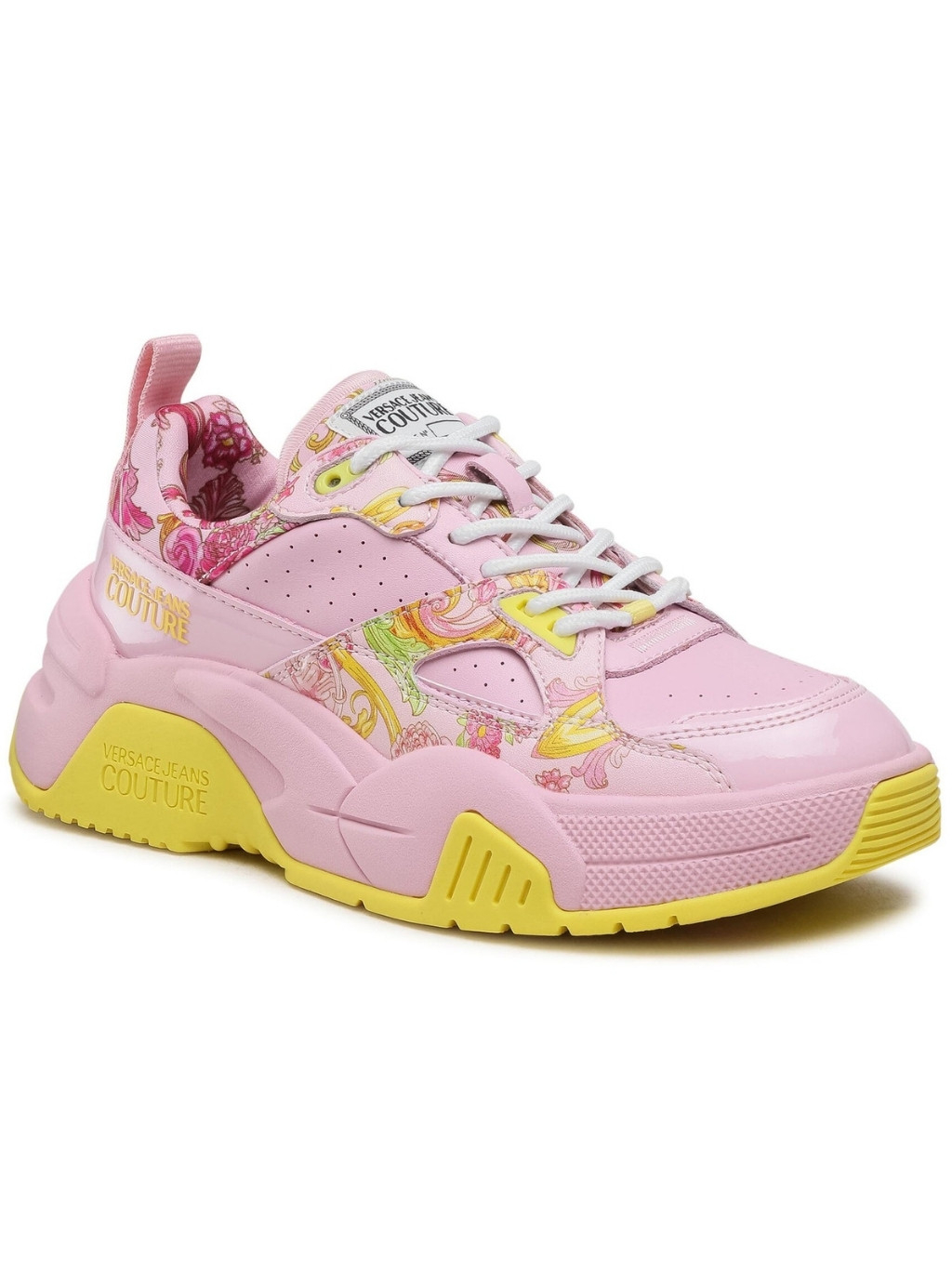 VERSACE JEANS COUTURE Fire 1 Pink tenisky (2)