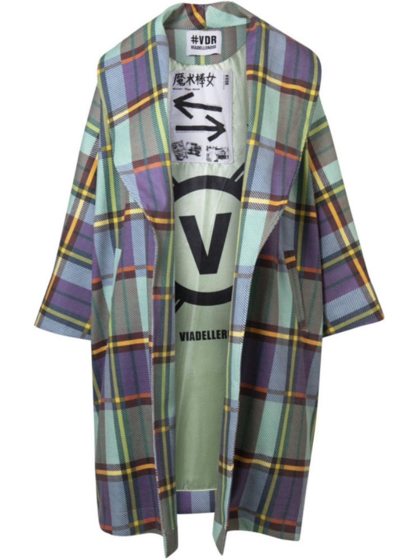 #VDR Multicolor kabát (2)
