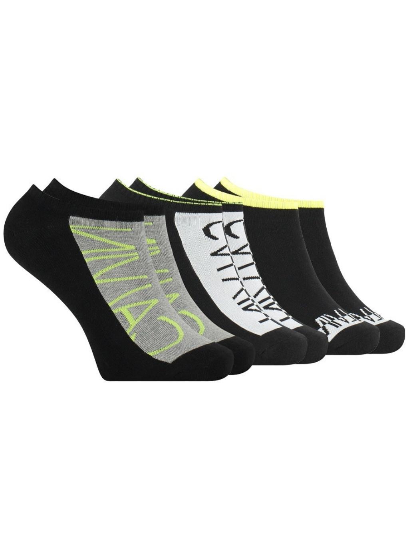 CALVIN KLEIN JEANS 3 Pack ponožky (1)