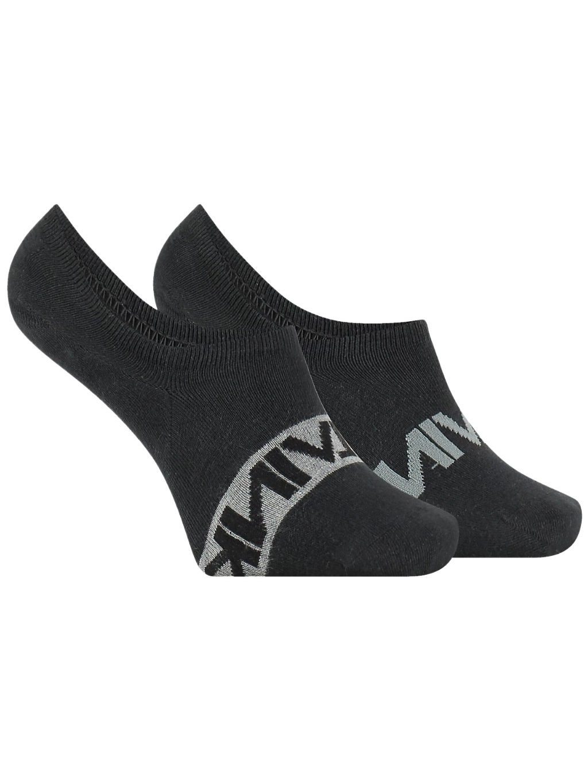 CALVIN KLEIN Black 2 Pack ponožky (2)
