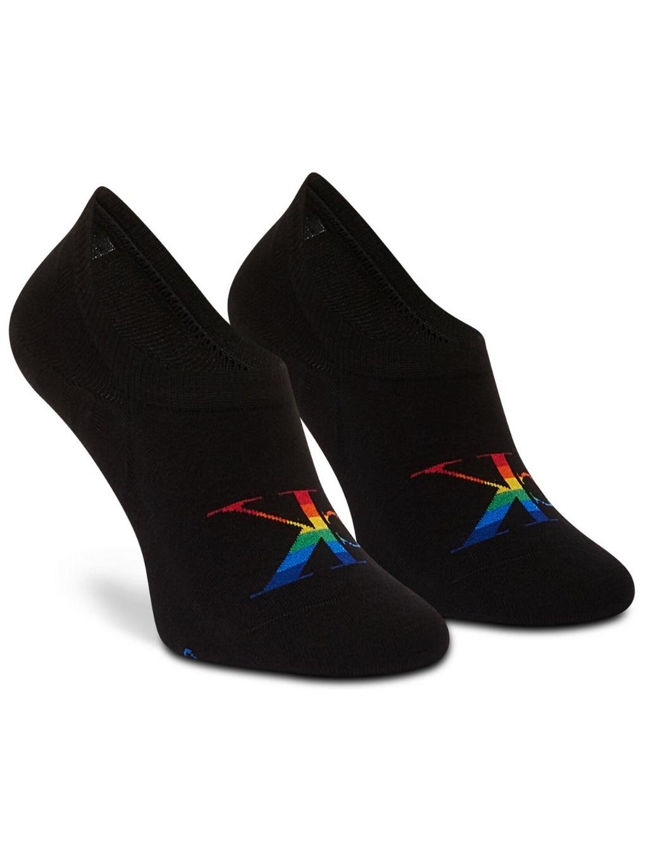 CALVIN KLEIN JEANS Logo 1 Pack ponožky (2)