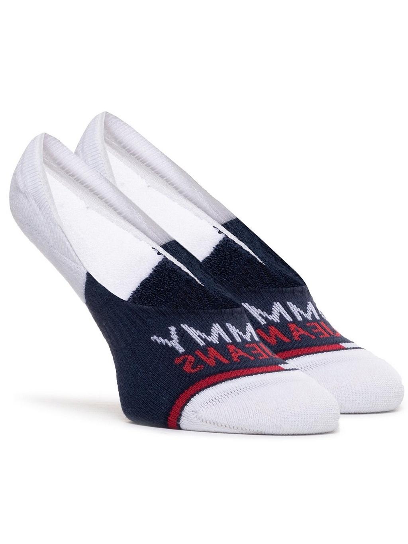 TOMMY JEANS Navy 2 Pack ponožky (2)