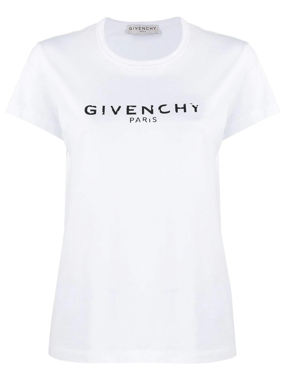 GIVENCHY Logo tričko white damske (4)
