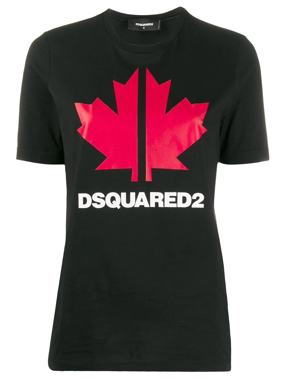 DSQUARED2 Maple Leaf tričko (4)